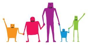 bigstock-Cartoon-Teamwork-Holding-Hands-55842998