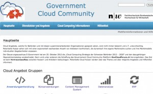 govCloudForum demo