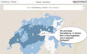 eGov Landkarte Demo
