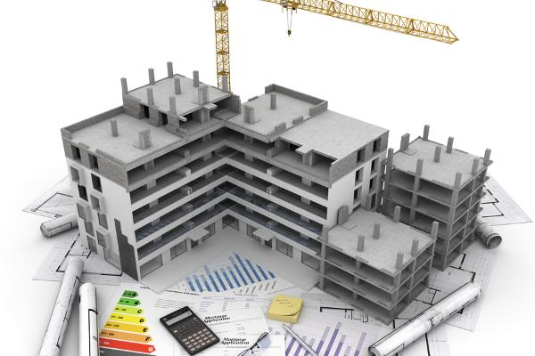 Architektur im Bau