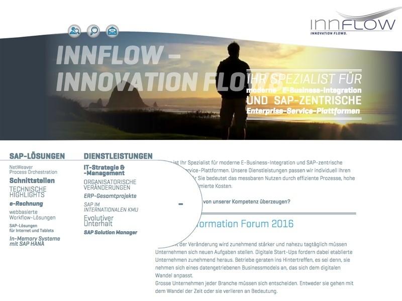 innflow-webseite